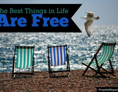 The best things in life are free. If you're trying to live on a budget and be more frugal there are still plenty of things to enjoy in life. Here are just a few of them. #frugality #thrifty