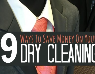 Wondering how to save money on dry cleaning. These tips from an ex-dry cleaner will help you spend less on your laundry services. #frugality