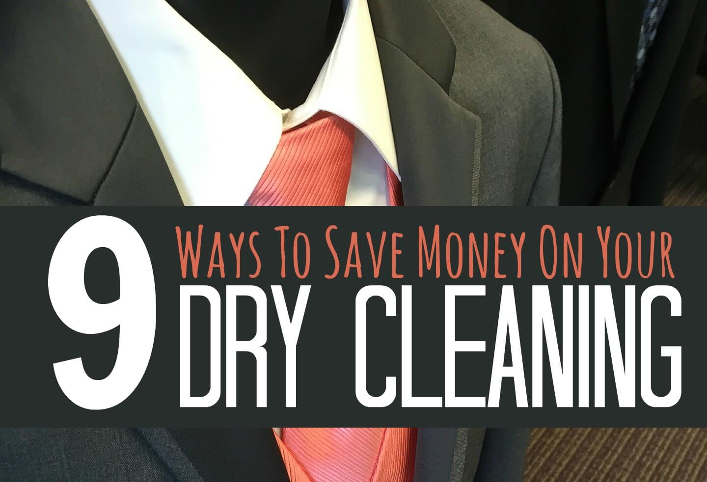 How to Save on Dry Cleaning images