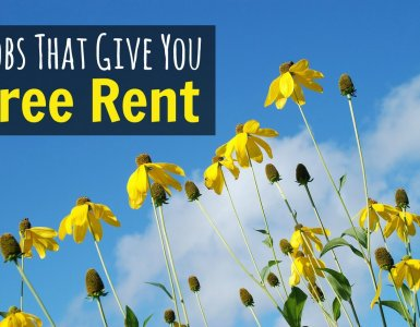 Want to save money? Want to live well on a budget? If so, here are some jobs that give free rent. Just think how much money you could save as a result! #frugality