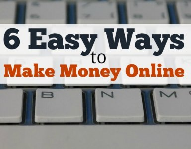 Are you looking for easy ways to make money online? Here are 6 methods I've used myself to make money online - how many could you try?