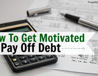 How to get motivated to pay off debt. Apply these simple tricks and find getting out of debt becomes simpler than ever before.