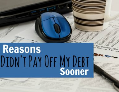 Paying off debt and becoming debt free is never easy, but the sooner you start the better. Here are some odd reasons why I didn't start repaying my debt immediately. Learn from my mistakes today.