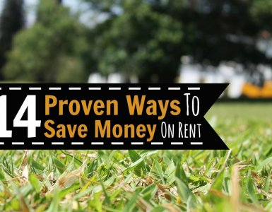 Want to stop spending so much money and actually make your budget a success? Here are 14 proven ways to save money by spending less on rent.