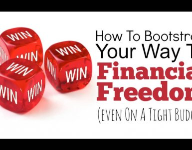 Retire early and reach financial freedom with this simple system that anyone can follow. Read on to find out how to bootstrap your way to financial success.