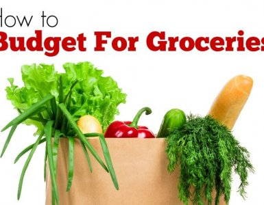 Want to know how to budget for groceries? Follow these simple steps and never run out of money again when you need to buy food...