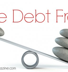 How to live debt free. Follow these simple steps and say goodbye to debt for ever more...
