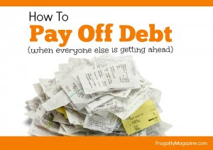 How to pay off debt when everyone around you seems to be getting ahead. Here's how to end the financial frustration and finally take control of your money...
