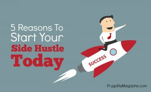 Do you want to make more money, pay off debt and finally get your budget under control? When it that case you need to start a side hustle. Here are 5 great reasons to start earning extra money on the side...