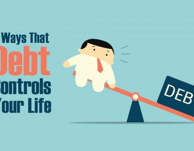 5 ways that debt controls your life - and how to regain control of your finances.