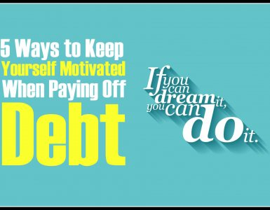 How to keep yourself motivated when paying off debt. Figure out ho to stay the course, stick to your budget and finally become debt free.