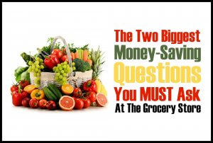 Save money on groceries with these two essential tips.