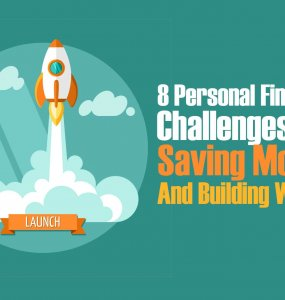 Save money and build wealth with these 8 personal finance challenges.