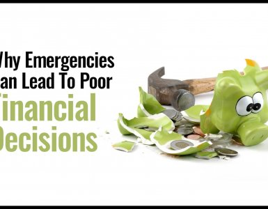 Financial emergencies can lead to poor decisions that you have to pay for many years into the future. Here's how to avoid financial emergencies and budget properly for the future.