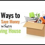 How to save money when moving house. It doesn't need to be as painful as you might imagine - here are some tips for spending less when moving.