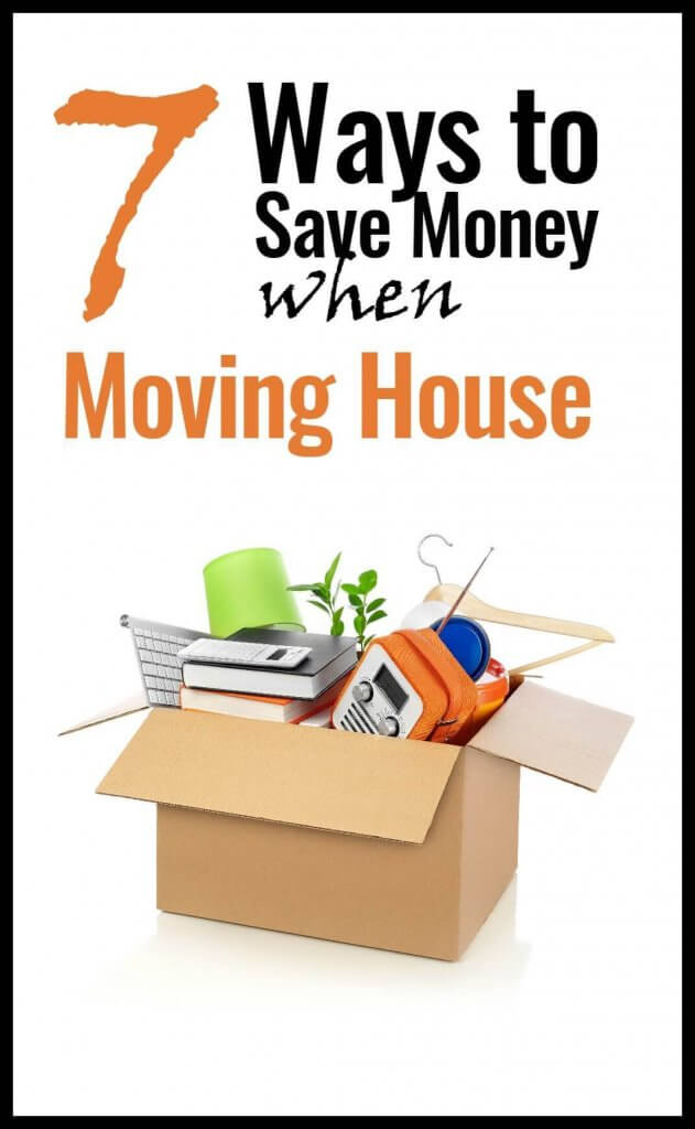 7 ways to save money when moving house for Ways to save for a house