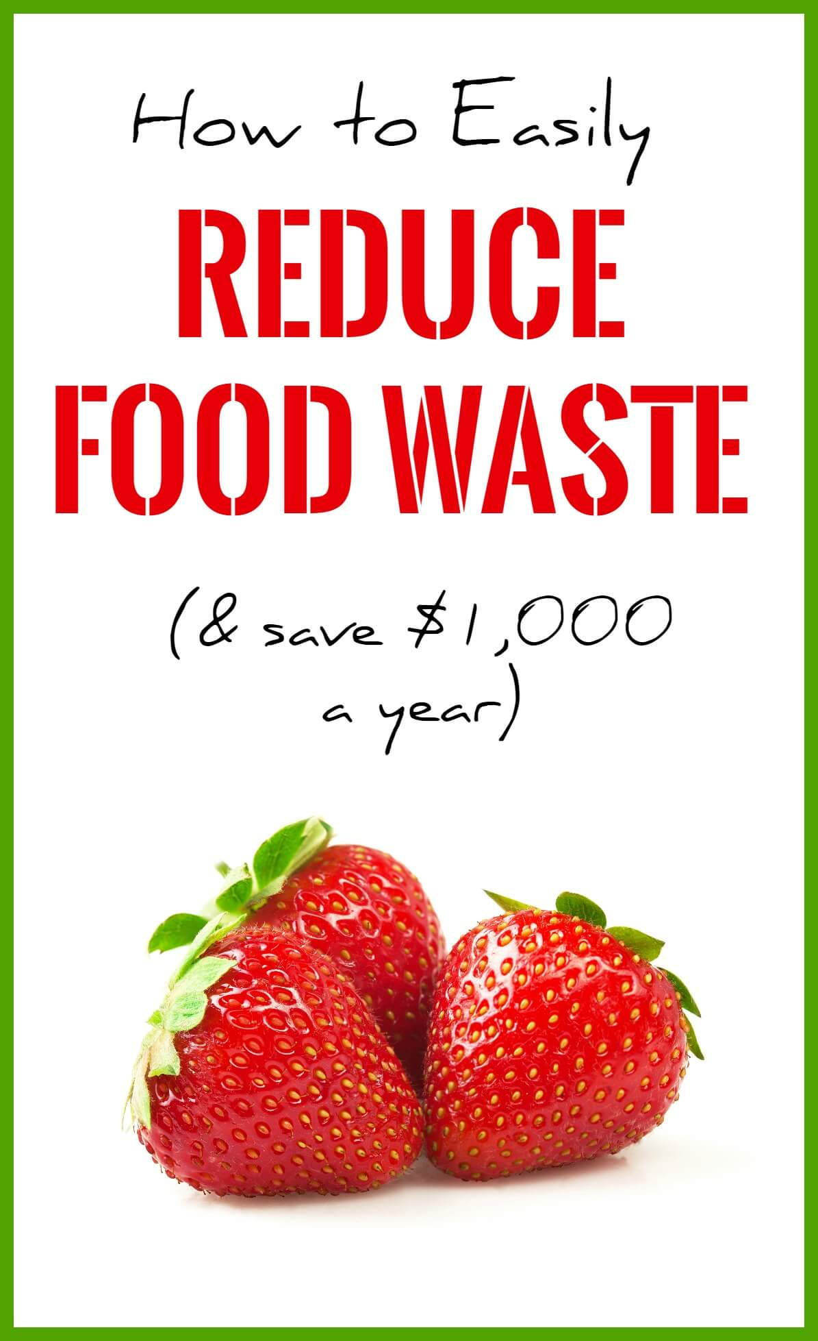 How to reduce food waste, save money and help the environment. This complete guide talks you through a whole host of options for throwing away less food, including instructions on how to freeze or dehydrate food, start a food journal and more.