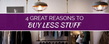 Stop wasting your money on unnecessary belongings! Here are some super-power reasons to *stop* spending money and to start a more minimalist lifestyle.