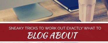 Want to start a blog but don#t know what to blog about? As it turns out, there are a number of useful tricks for identifying the exact topics and themes that will engage your blog readers the most - here's how...