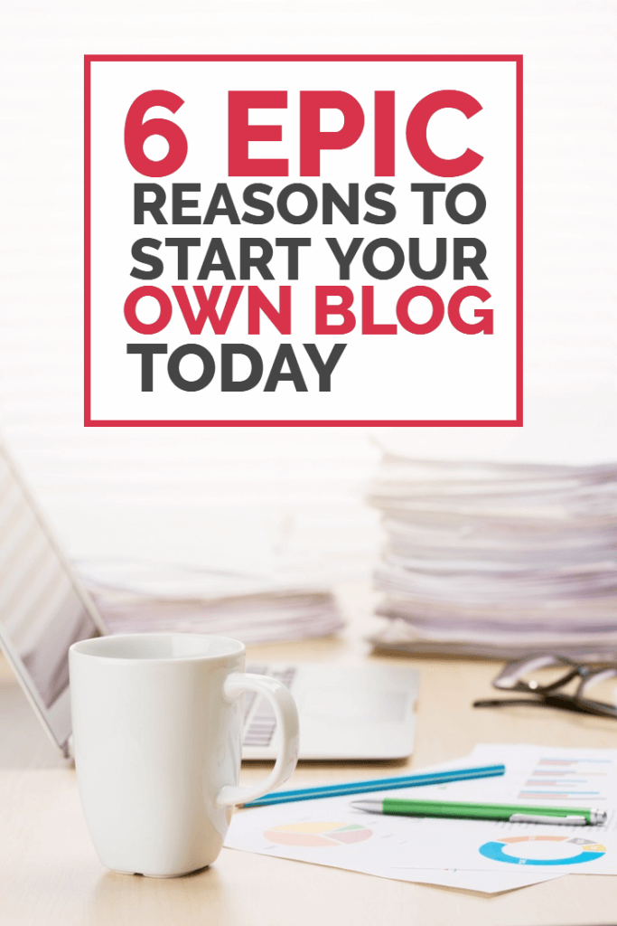 Start a blog this year and prepare to transform your life. There are numerous reasons to start a blog - and earning money from home is just one of them. If you're on the fence, trying to decide whether to start a blog this year then this article should give you a push in the right direction!