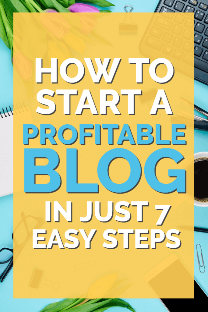 Start a blog today with this super-simple 7 step plan. Perfect for brand new bloggers with no technical knowledge - simply follow along and discover how easy it is to make money at home with blogging.