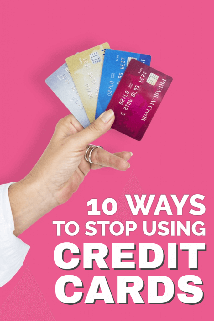 10 ways to stop using credit cards so you can pay off your debt and get ahead with your personal finances. It's easier than you think when you follow these proven rules...